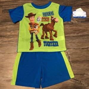 ✨3/$15 Disney/Pixar Toy Story Pajama Short Set